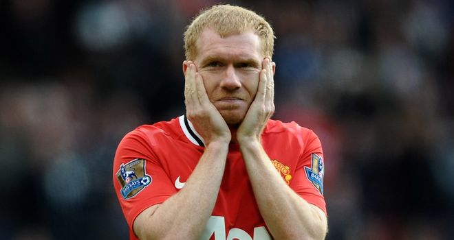 Paul Scholes: Manchester United did not speak to Roy Hodgson about a possible England return