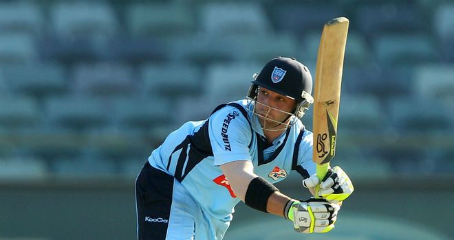 Phil Hughes: Set to make his Worcestershire debut in the CB 40 on Sunday
