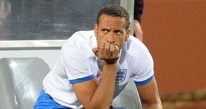 Rio Ferdinand: Says there were cliques when he first started in the England squad