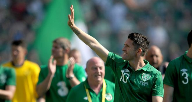 Robbie Keane: Does not want his team-mates to get too hyped up before Euro 2012
