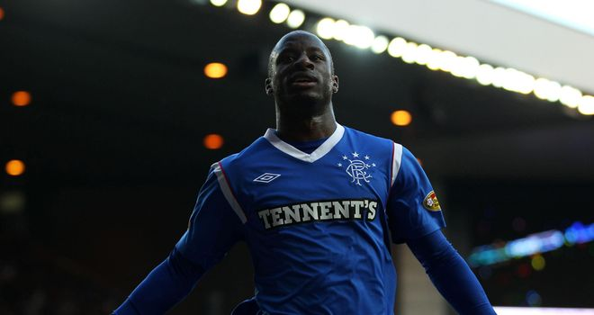 Sone Aluko: The Nigerian winger could swap Scotland for the USA once his Rangers contract expires