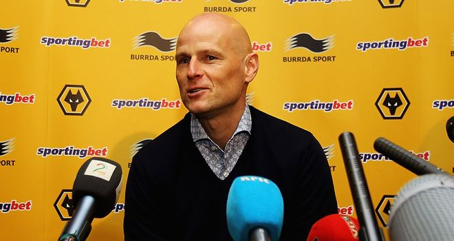 Stale Solbakken: The Wolves boss is aiming to get club back into the Premier League at the first attempt