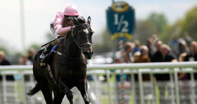 The Fugue: Jumped to the fore of the Oaks betting after an easy win