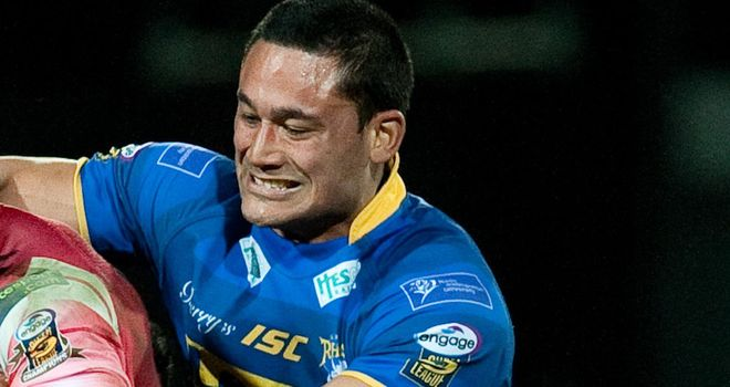 Weller Hauraki: Has signed a two-year deal with Castleford