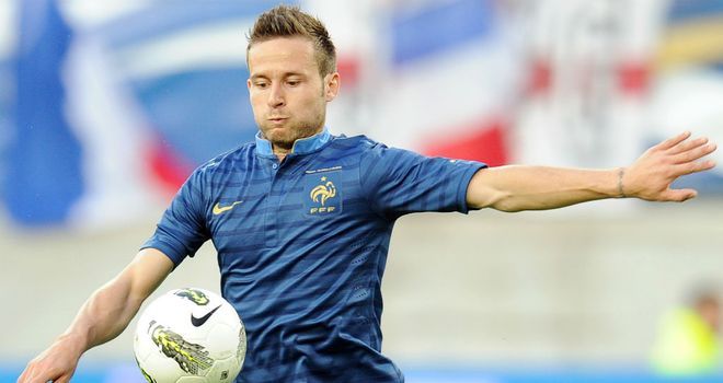 Yohan Cabaye: France midfielder should be fit to face Sweden after a minor thigh injury