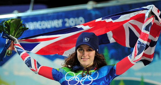 Amy Williams: Heads to Sochi as a Team GB ambassador
