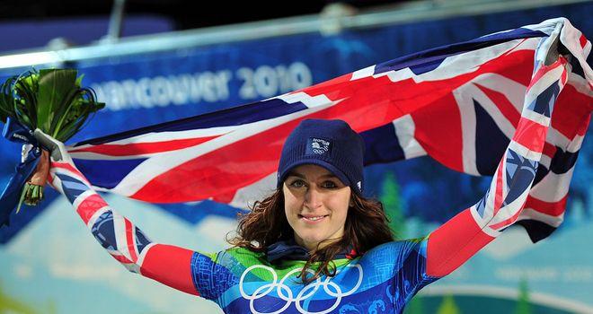 Amy Williams: Heads to Sochi as a Team GB ambassador