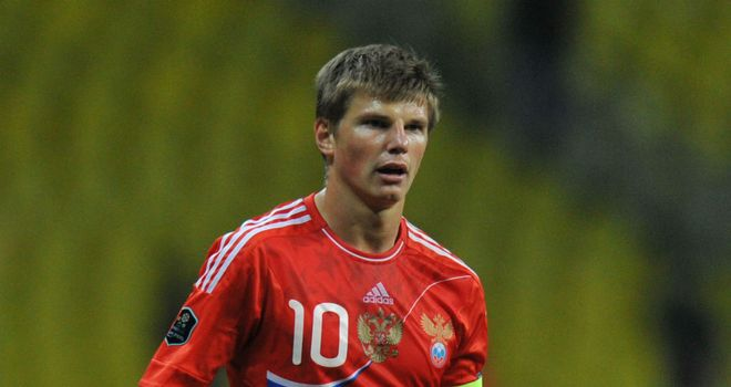 Andrey Arshavin: set to pull the strings for Russia