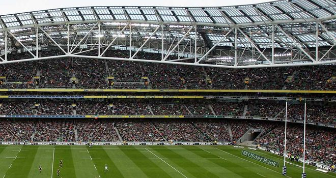 Aviva Stadium: Will host the 2013 Heineken Cup final