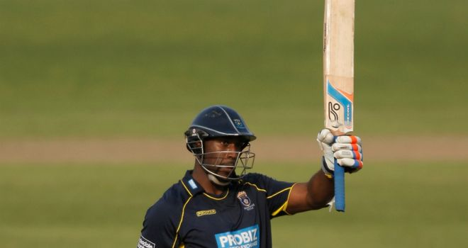 Michael Carberry: Hampshire opener finished on 103 not out