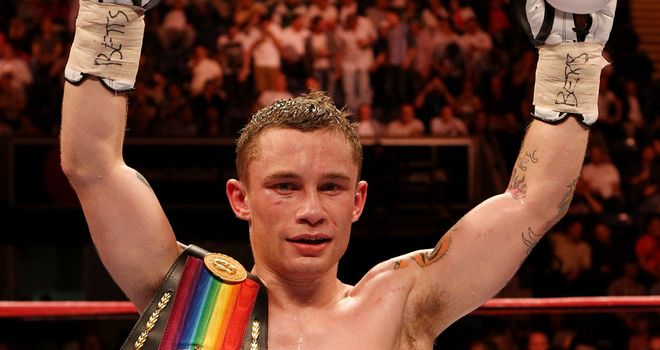Carl Frampton: will be defending his Commonwealth and IBF International titles on September 22
