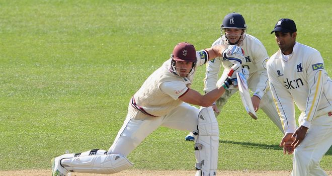 Nick Compton: Somerset batsman is 285 runs short of 1,000 in first-class cricket this summer