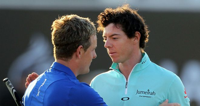 Luke Donald: Rory McIlroy has spoiled seasonal finale with his dominance