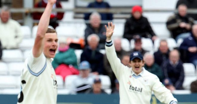 Will Gidman: Claimed 4-39 as Gloucestershire took charge.