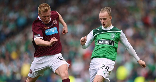 Leigh Griffiths: Wolves striker has returned to Hibernian on loan for the first half of the season
