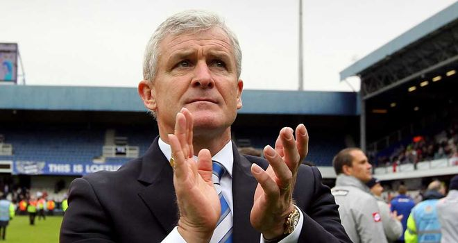 Mark Hughes: Has big plans for QPR but whether they include Joey Barton is not yet clear