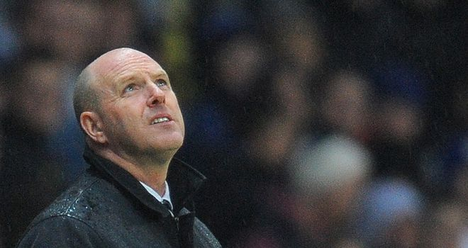 Steve Kean: Reported to be close to the sack as pressure builds on Rovers' owners
