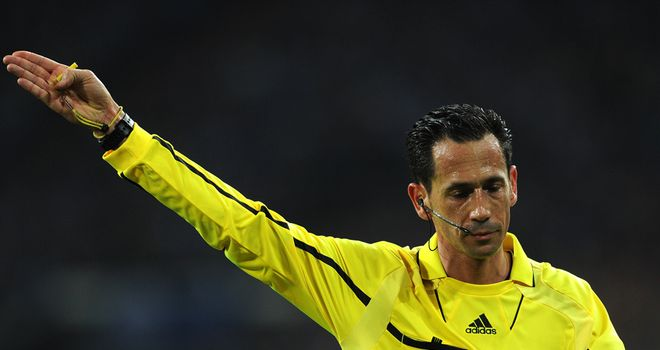 Pedro Proenca: To referee Sunday's Euro 2012 final between Spain and Italy