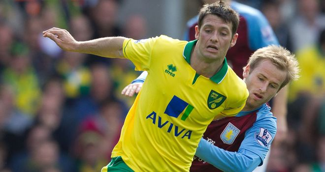 Wes Hoolahan: Back in the Norwich starting line-up
