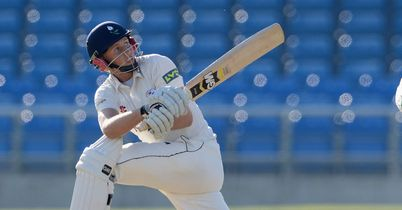 Joe Root: Top-scored for Yorkshire on day four
