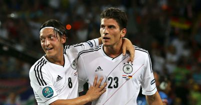 Ozil (l): Starred for Germany