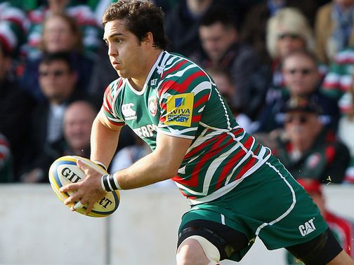 Horacio Agulla: Hat-trick of tries for Bath