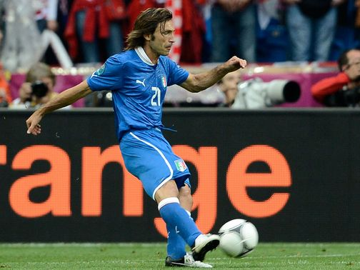 Andrea Pirlo: 'Superlative' said Marotta