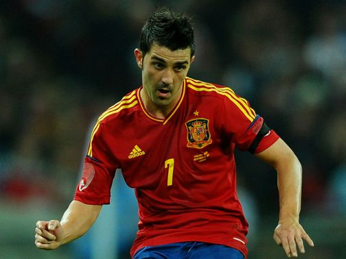 David Villa: Wants return to action
