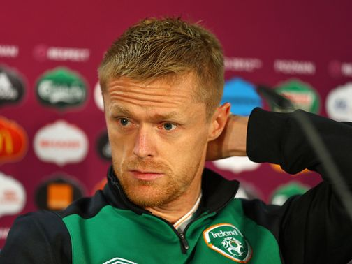 Damien Duff: Retired from Republic duty