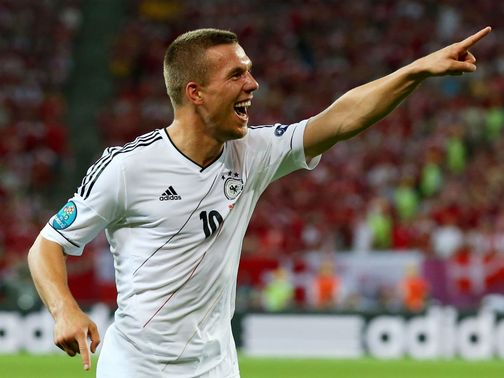 Podolski: Looking to end Italy's run