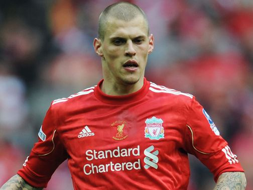 Martin Skrtel: Looking forward to taking on Carlton Cole