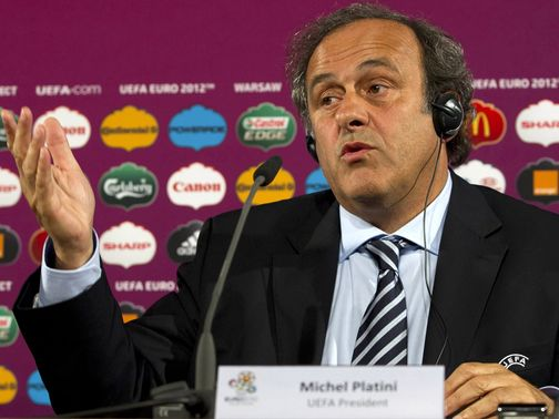 Platini: Reportedly unhappy with Serbia sanctions