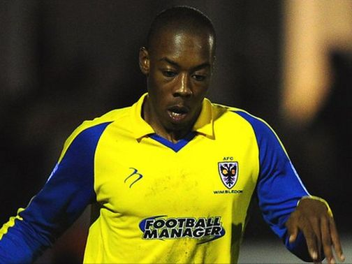 Ryan Jackson pictured while at AFC Wimbledon