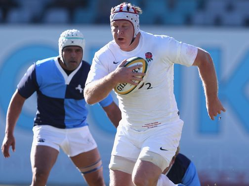 Thomas Waldrom: Potential try scorer for England