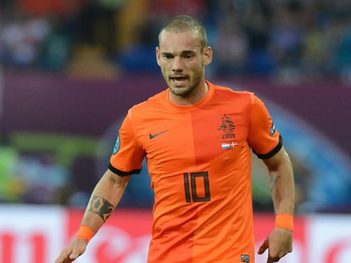 Wesley Sneijder: Linked with Premier League move