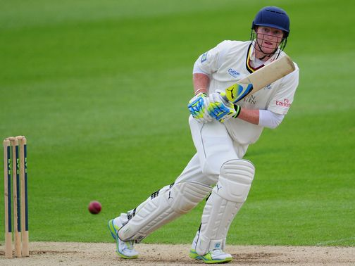 Stokes: Helped guide Durham to victory
