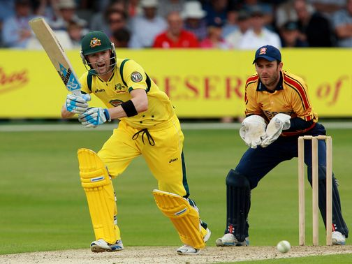 Michael Clarke: Top scored with 76