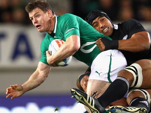 Brian O&#39;Driscoll: Would be honoured to lead Lions