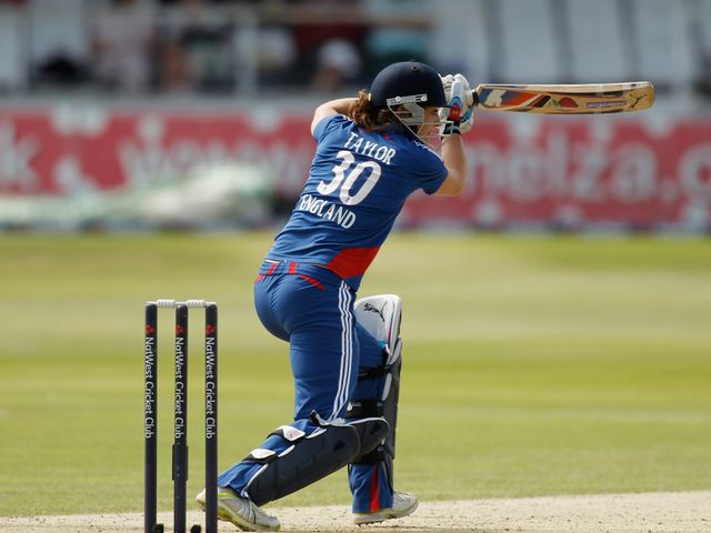 Sarah Taylor: Top scored with 69