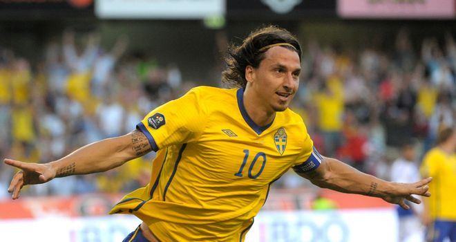 Zlatan Ibrahimovic: Captain and key man for Sweden