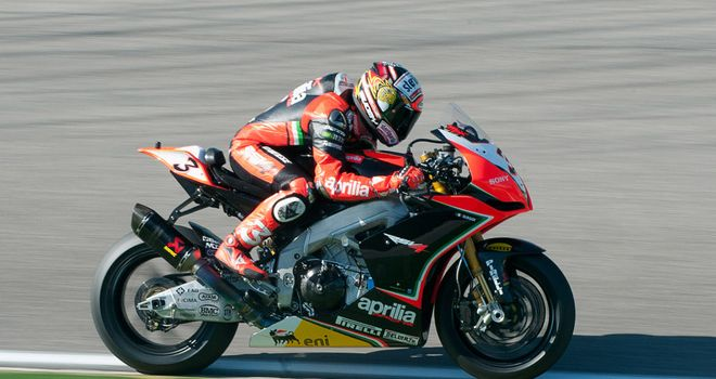 Max Biaggi: Still leads the standings