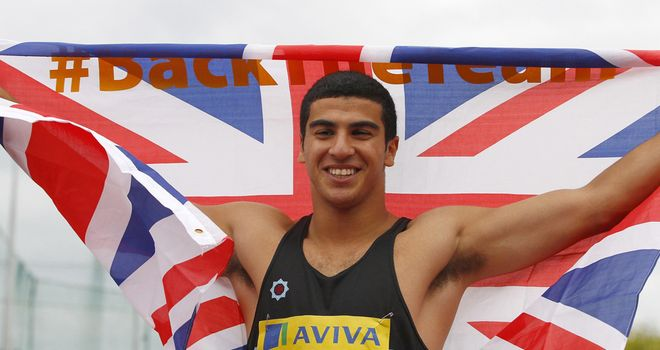 Adam Gemili: Teenager will run in the London Olympics