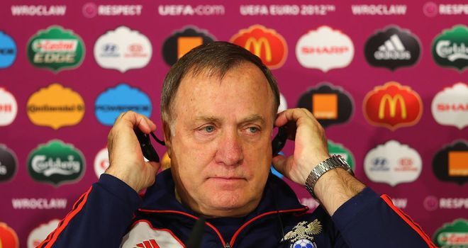 Dick Advocaat: PSV top courtesy of goal difference