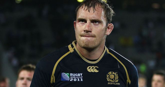 Alastair Kellock: hoping to help Scotland's backs fire against the Fijians