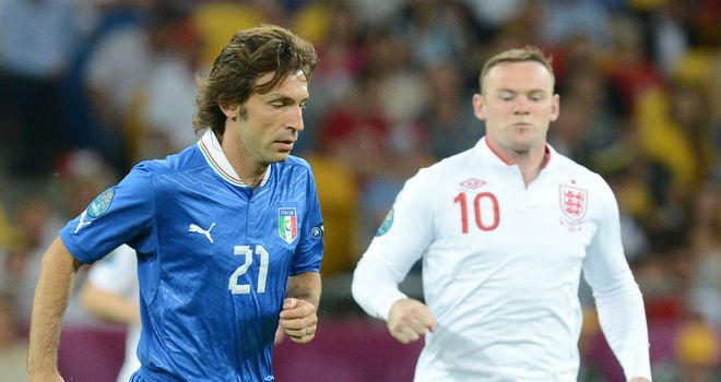 Andrea Pirlo: Expecting a tougher test against Germany after a majestic display against England