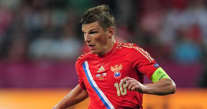 Andrey Arshavin: Figures prominently on Reading's January shopping list