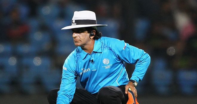 Asad Rauf will not be officiating at the Champions Trophy