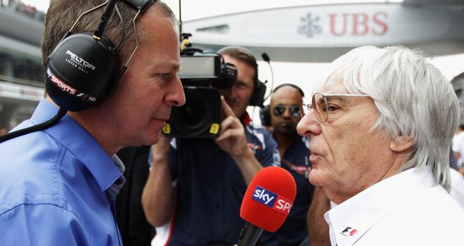 Bernie Ecclestone: Said to have spoken to Thai officials in Singapore