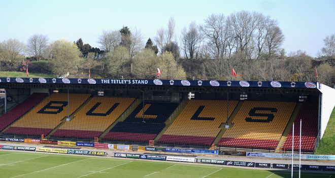 Four consortia bidding for Super League club Bradford Bulls