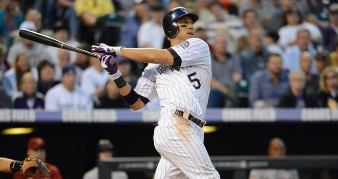 Carlos Gonzalez: Four home runs in four at-bats